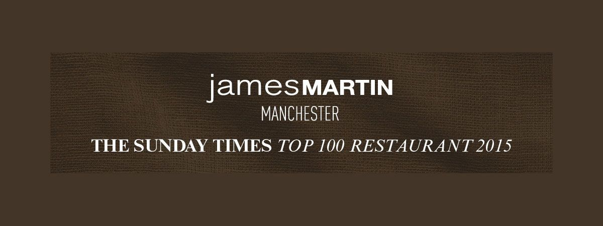 James Martin Restaurant award